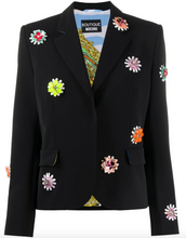 Load image into Gallery viewer, Floral Blazer - Black