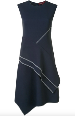 Nicolette Dress - Marine Navy