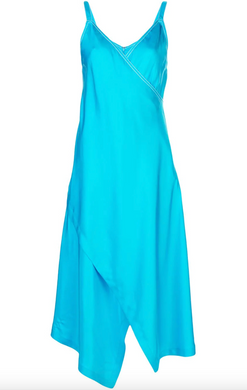 Alice Slip Dress - Olympic Blue