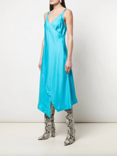 Load image into Gallery viewer, Alice Slip Dress - Olympic Blue