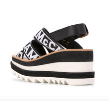 Load image into Gallery viewer, Elyse Sneaker Sandal - Black/White