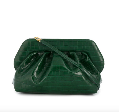 Bios Handbag - Vegan Green Croc