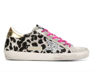 Superstar Sneaker - Ice/Leopard/Gold/Pink