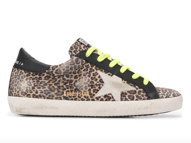 Superstar Sneaker - Leopard/Ice/Black/Neon