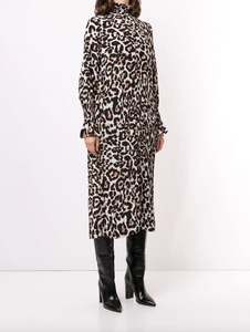 Aeverie Dress - Wild Leopard