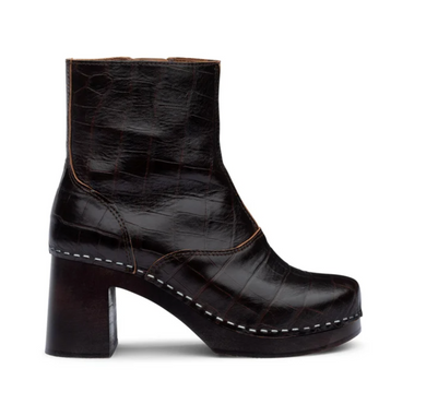 60's Boot - Dark Brown