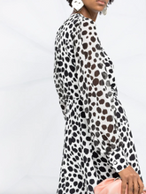 Load image into Gallery viewer, Animal Print Dress - Black/White