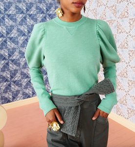 Philo Pullover - Turquoise