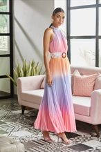 Load image into Gallery viewer, Emi Halter Maxi Dress - Multi