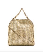 Load image into Gallery viewer, Falabella Mini Metallic Tote - Gold