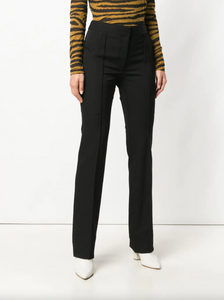High Waisted Trousers - Black