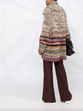 Load image into Gallery viewer, Cowl Neck Knitted Jumper - Multi