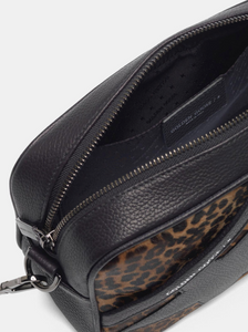Star Bag - Black/Leopard