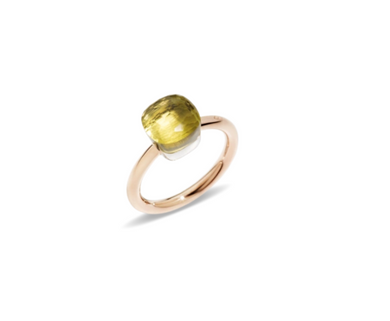 Nudo Petite Ring - Lemon Quartz