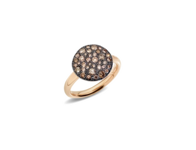 Sabbia Ring - Brown Diamond