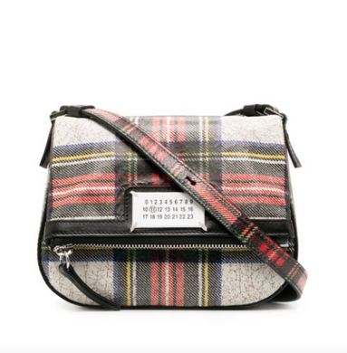 5AC Pouchette Bag - Tartan Plaid