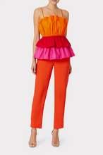 Load image into Gallery viewer, Naomi Poplin Top - Watermelon Multi