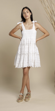 Load image into Gallery viewer, Le Sete Mini Dress - White