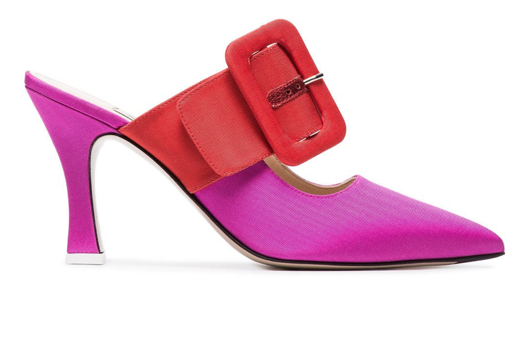 Chloe Pumps - Pink/Red