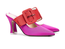 Load image into Gallery viewer, Chloe Pumps - Pink/Red