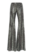 Load image into Gallery viewer, Harmon Pants - Silver Sequin