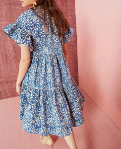 Rosemarie Dress - Indigo