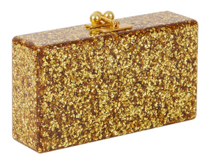 Jean Solid Clutch - Gold