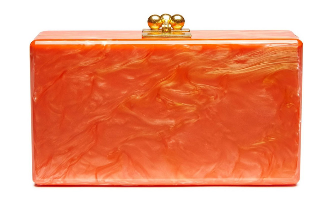 Jean Solid Clutch - Orange