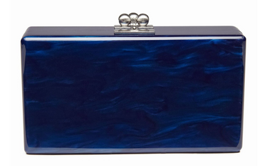 Jean Solid Clutch - Sapphire