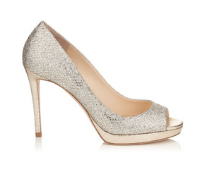 Luna Pump 100mm - Champagne