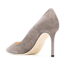 Load image into Gallery viewer, Romy Pump 85mm - Opal Grey Suede