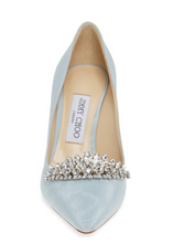 Load image into Gallery viewer, Romy Pump 60mm - Blue Crystal