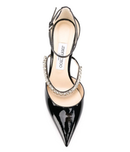 Load image into Gallery viewer, Bobbie Patent Leather 85mm Pump - Black