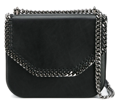 Falabella Box Shoulder Bag - Black