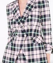 Load image into Gallery viewer, Miller Dickey Jacket - Pink Multi Plaid