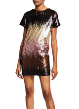 Load image into Gallery viewer, Ombre Sequin Dress - Multi