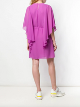 Load image into Gallery viewer, Flare-sleeve Dress - Striking Purple