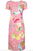 Load image into Gallery viewer, Floral Print Dress - Coral Multi