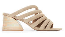 Load image into Gallery viewer, Izzie Sandal - Flax