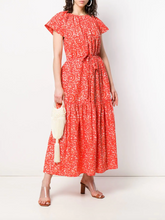 Load image into Gallery viewer, Pari Skirt - Coral Batik