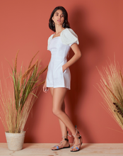 Load image into Gallery viewer, Lanai Romper - White