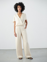 Load image into Gallery viewer, Wide Leg Hex Jumpsuit - Griege