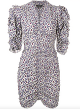 Load image into Gallery viewer, Andor Dress - Blue Paisley