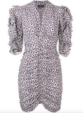 Andor Dress - Blue Paisley