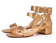 Load image into Gallery viewer, Multipot Sandal 25 mm - Gold