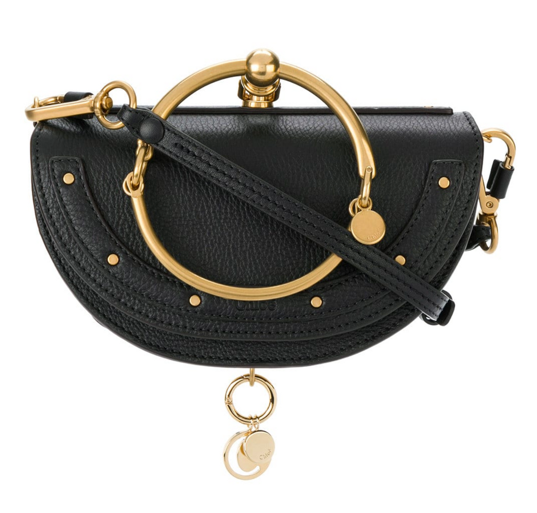 Nile Small Minaudiere - Black