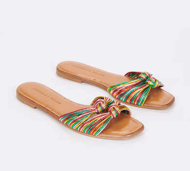 Gemma Sandal - Rainbow/Gold Mix