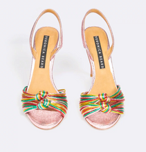 Load image into Gallery viewer, Alessia Sandal - Rainbow/Gold Mix