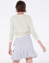 Load image into Gallery viewer, Kaia Skirt - Grey/White Seersucker