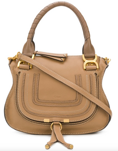Marcie Small Tote - Nut
